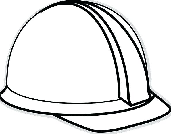 595x467 Collection Of 'construction Hat Drawing' Download More Than