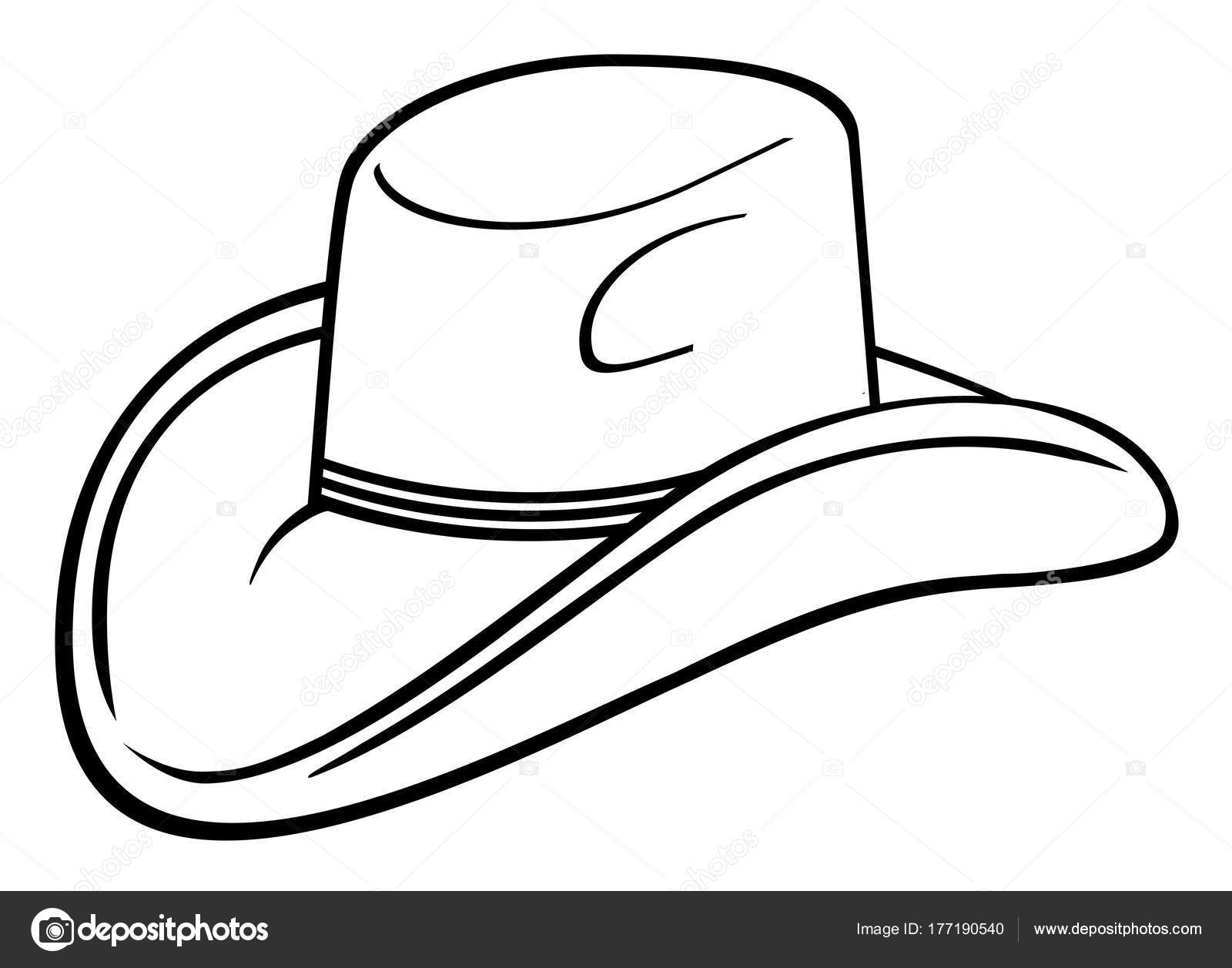 1600x1257 Cap Drawing Cowboy For Free Download