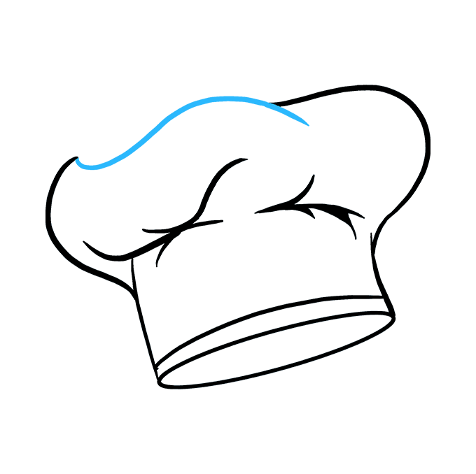 680x678 How To Draw A Chef Hat