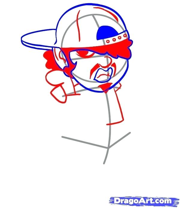 601x694 How To Draw A Cap