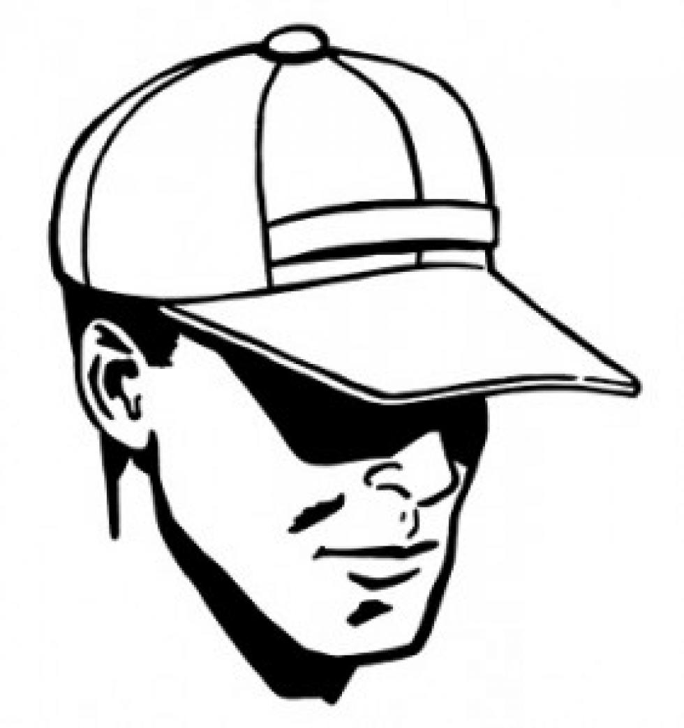 980x1042 Cap Drawing Guy For Free Download