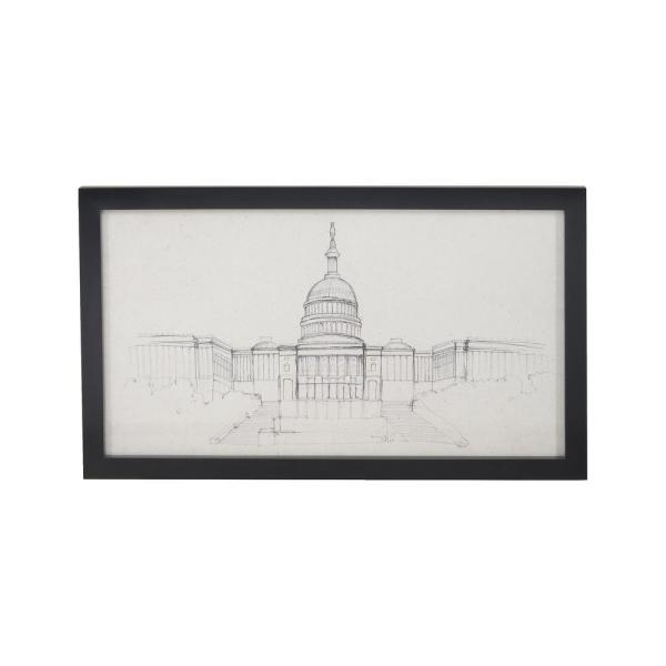 600x600 titan lighting in x in us capitol hand painted framed