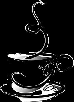 250x344 steam cup mug saucer art drawing blackandwhite coffee