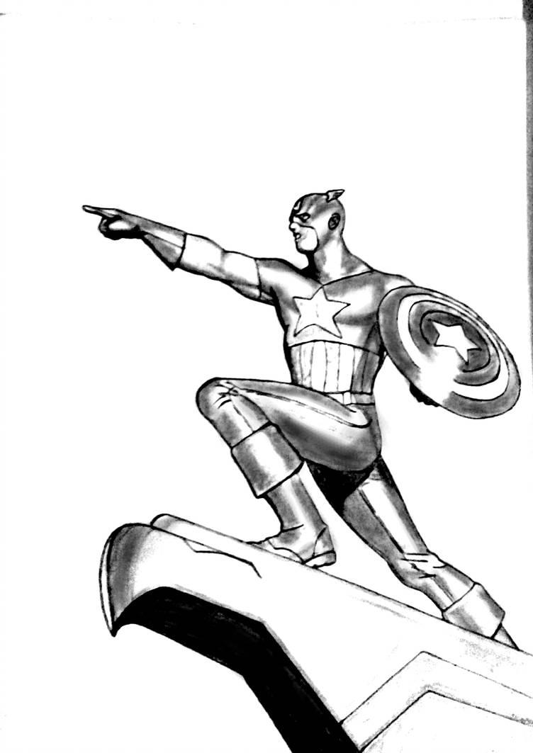 752x1063 Captain America