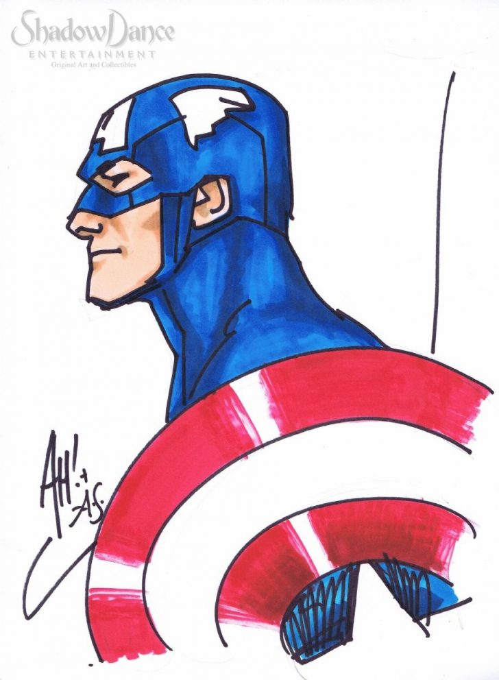 728x992 Captain America Drawing Chibi Baby Full Body Avengers With Colour