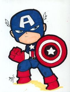 236x307 Image Result For Cartoon Images Of Captain America For Children