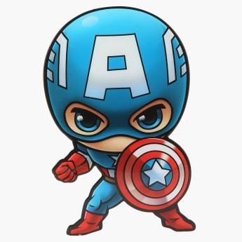 345x345 Deco Light Mini Captain America With Wall Sticker Multicolour