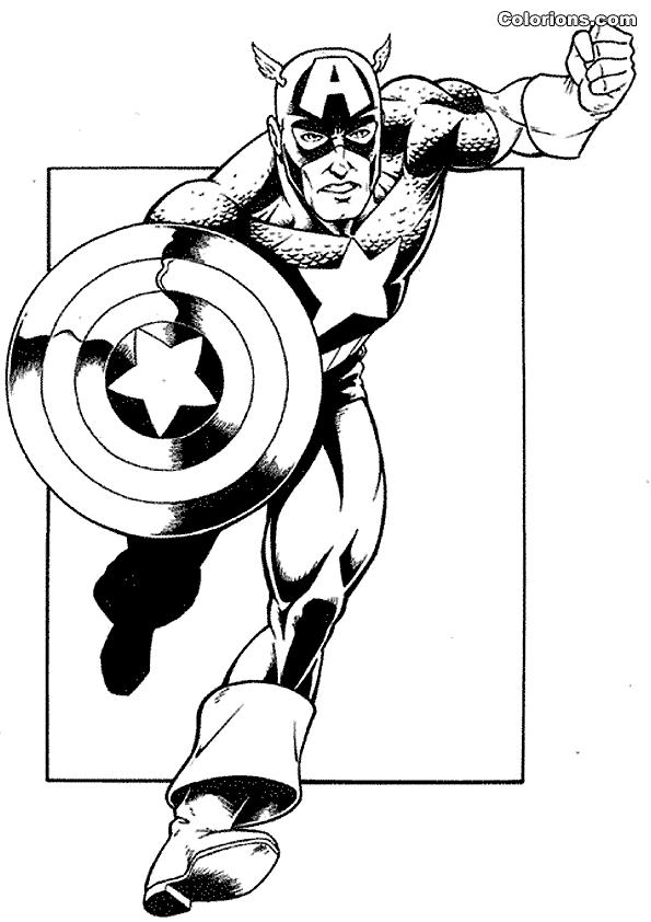 595x842 Captain America