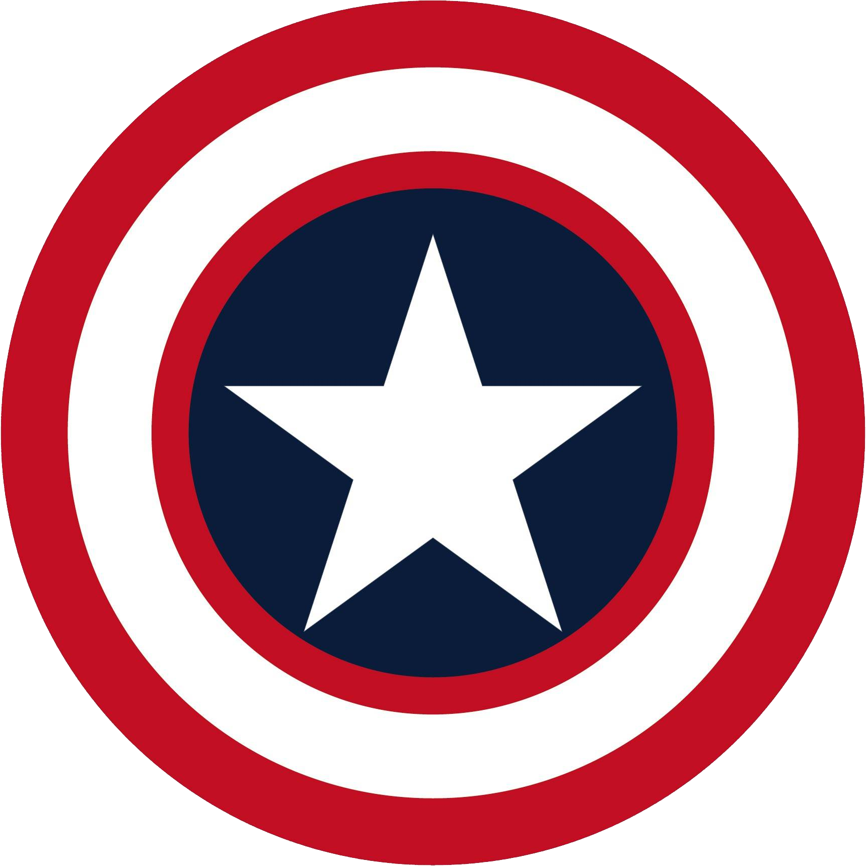 Captain America Shield Drawing