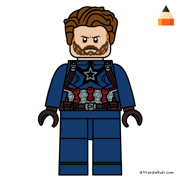 600x600 Drawing Lego Avengers Infinity War