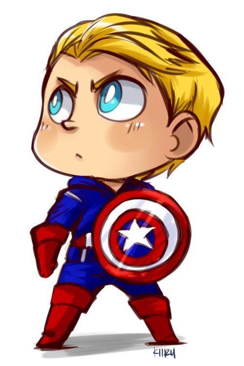500x750 Kawaii Captain America Marvel's Captain America Captain