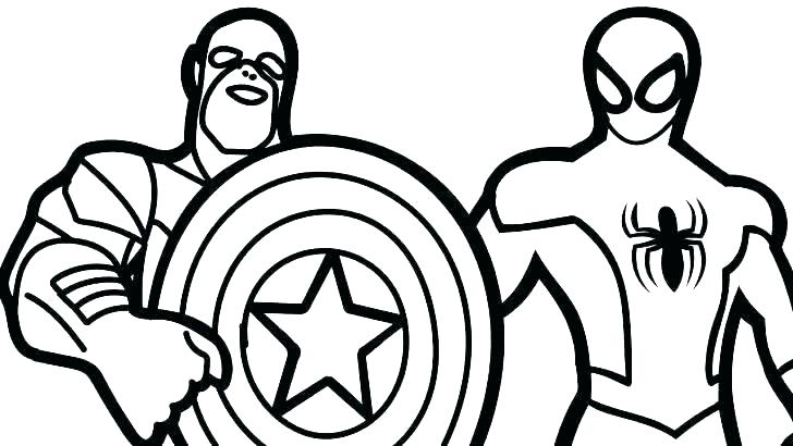 728x410 captain america coloring captain coloring picture captain america