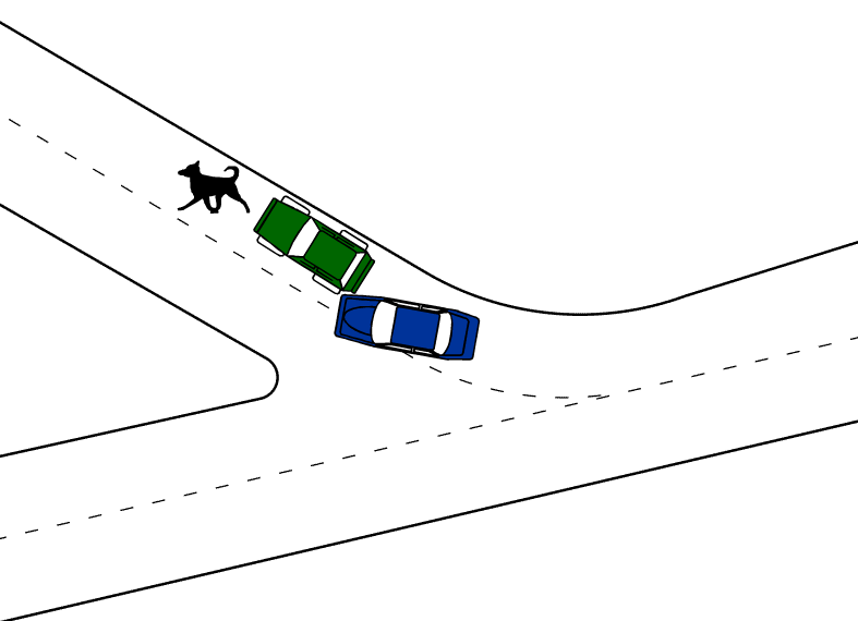 787x570 car accident sketch, draw accident sketch