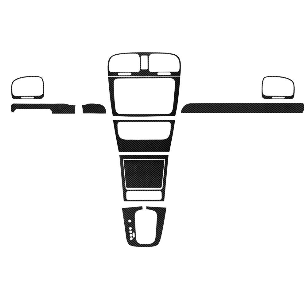 1000x1000 Automobiles Carbon Fiber Central Control Dashboard Panel Sticker