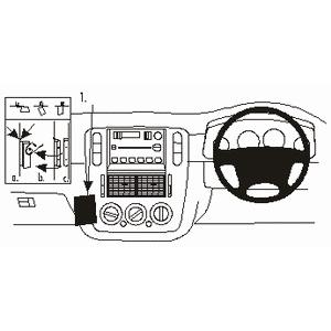 300x300 Clicon No Holes Dash Mount For Ford Explorer