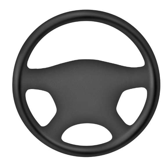 576x557 How To Draw A Steering Wheel And Dashboard In Photoshop