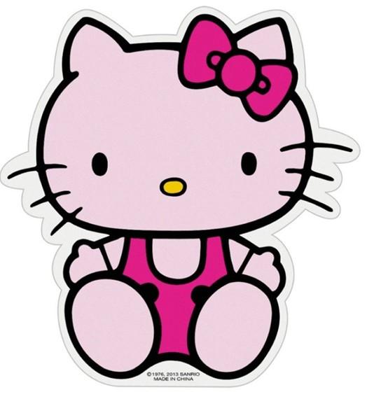 534x600 Katzwhiskas Hello Kitty Car On Dash Nonslip Mat