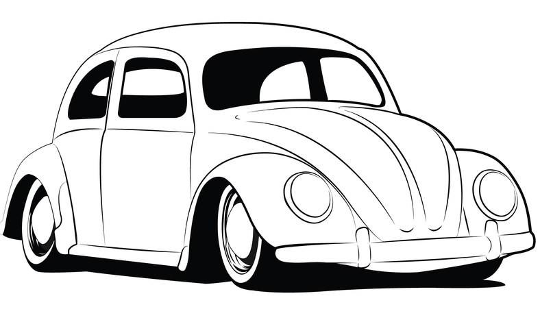 788x451 Project's Beetle Drawing, Beetle Tattoo, Vw