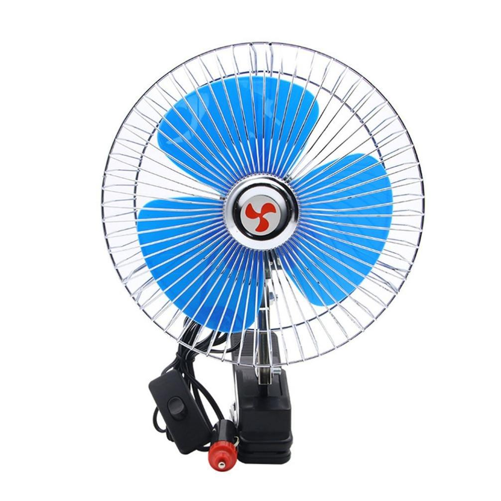 1006x1006 Chezaa Mini Inch Car Fan Vehicle Clip
