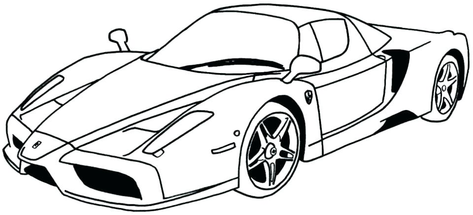 960x438 Race Car Coloring Pages Cars Ble Color Of Old Printable Hashclub