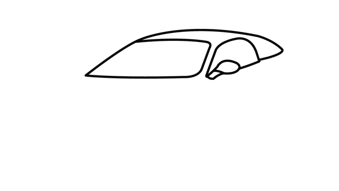 680x383 Collection Of Free Drawing Easy Car Download On Ui Ex