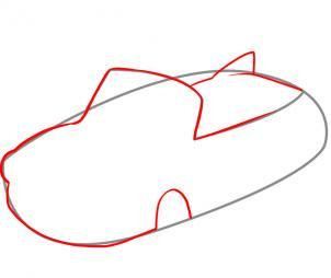 302x254 Draw An Easy Car, Step