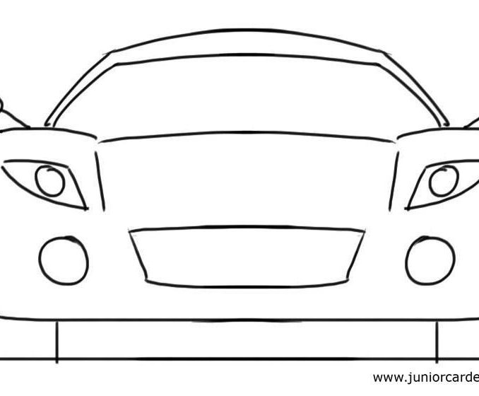 Car Drawing Easy Step By Step Free Download Best Car Drawing Easy