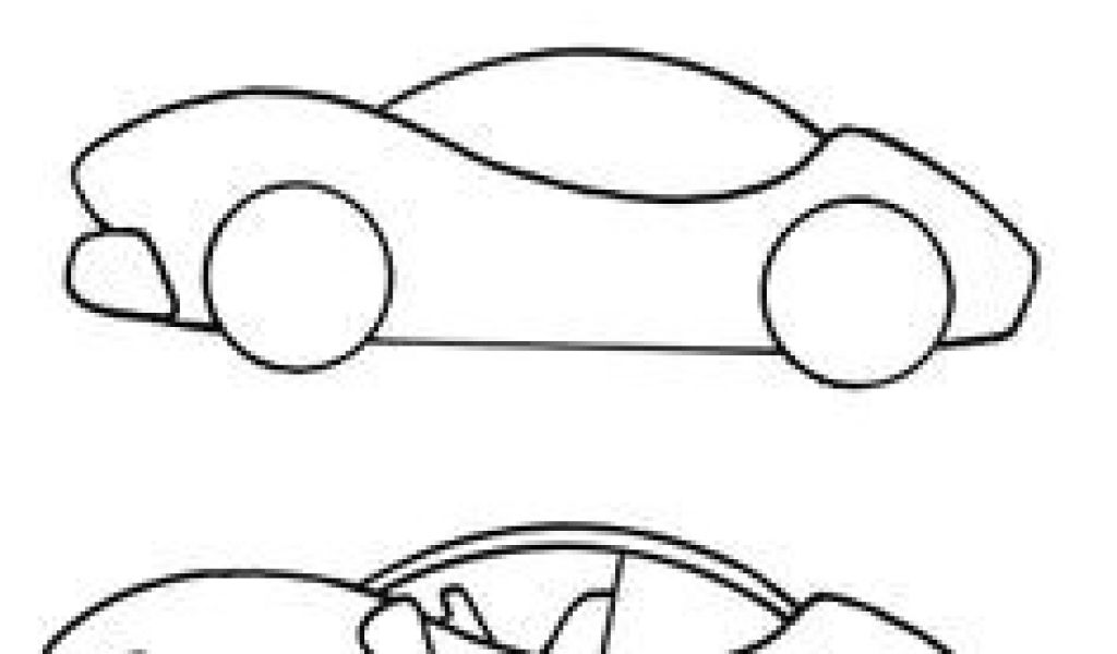1024x600 Formula Drawing Easy How To Draw A Cartoon Race Car Art Drawings