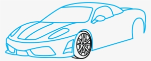 300x121 How To Draw A Car Step