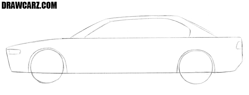1000x384 How To Draw A Car For Beginners Drawcarz