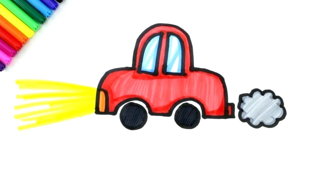1024x576 How To Draw A Car For Kids Home Improvement Loans For Bad Credit