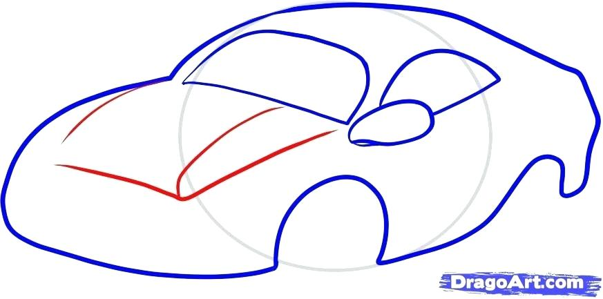 873x433 How To Draw A Car For Kids How To Draw A Car For Kids Home