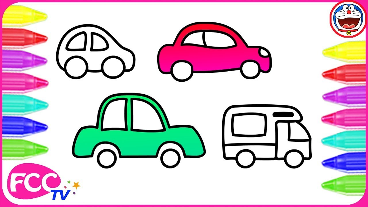 Car Drawing For Kids | Free download on ClipArtMag