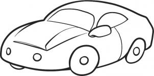 302x150 How To Draw How To Draw A Car For Kids