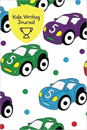333x499 kids writing journal cars design children's lined journal
