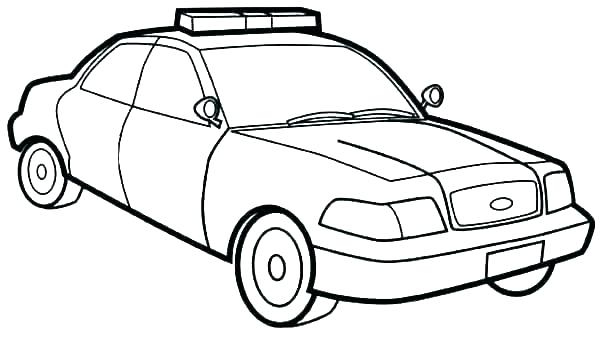 600x337 Car Drawing Template