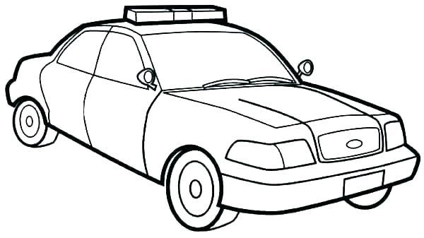 600x337 Car Drawing Template