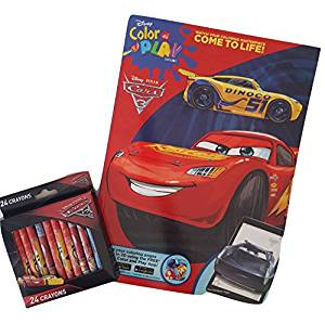 300x298 Pixar Cars Color And Play Coloring And Activity Book