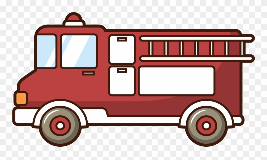 880x529 Car Motor Vehicle Fire Engine Firefighter Drawing Clipart