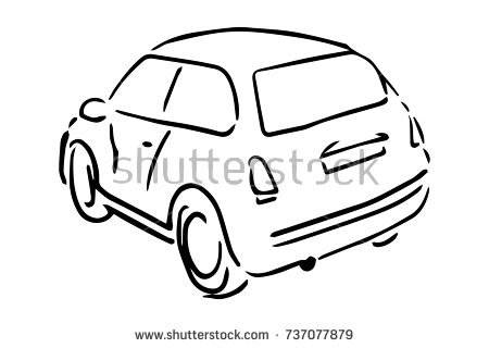 450x320 Huge Collection Of 'car Simple Drawing' Download More Than