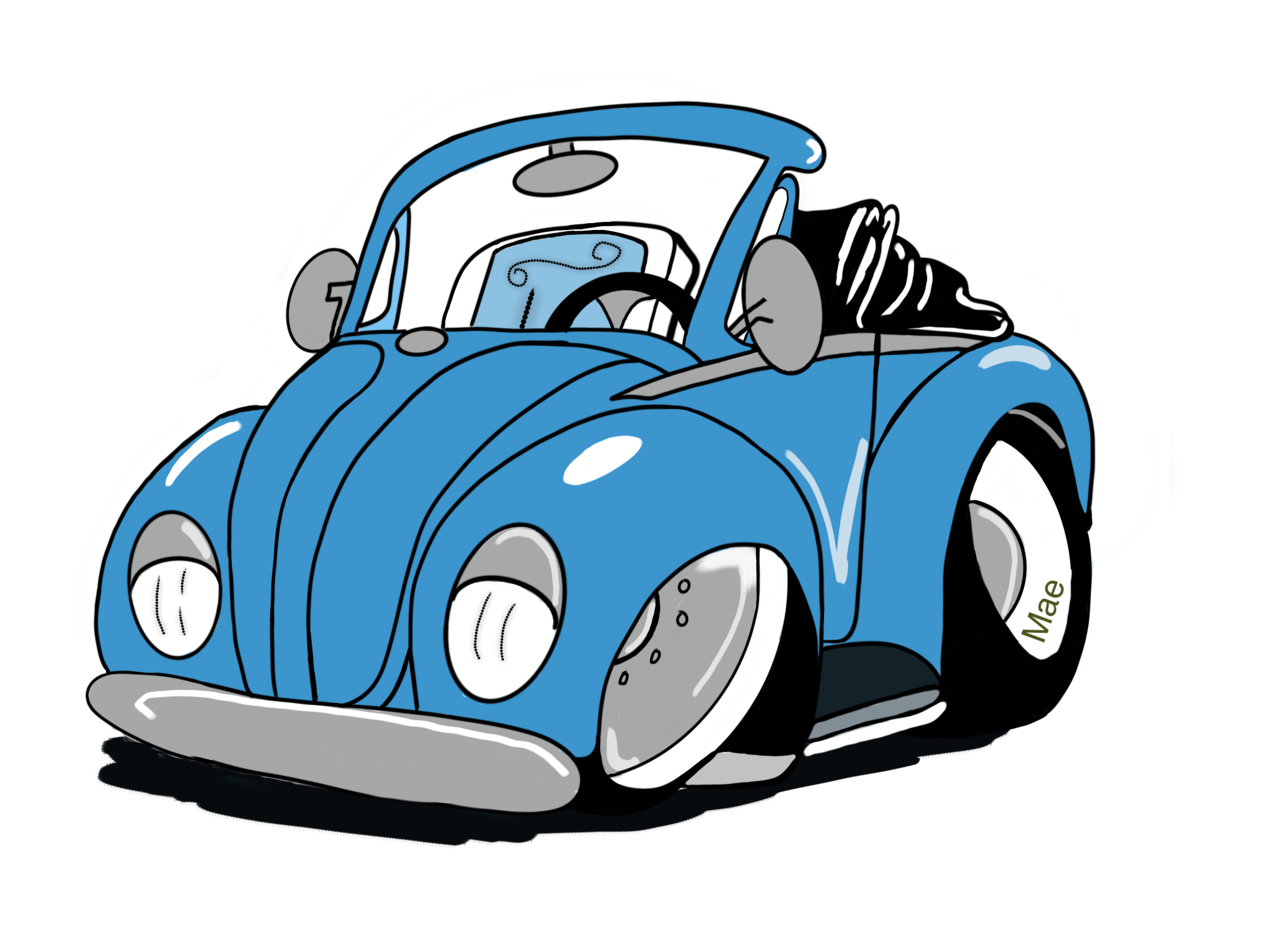 2048x1536 Volkswagen Clipart Car Drawing