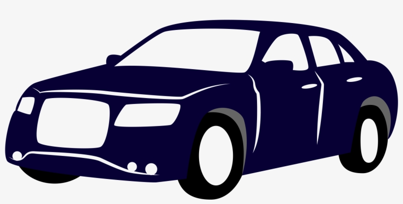 820x416 Blue Drawing Of A Car