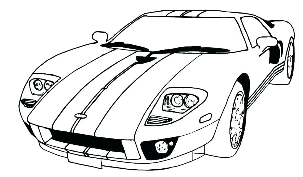 Car Drawing Pdf