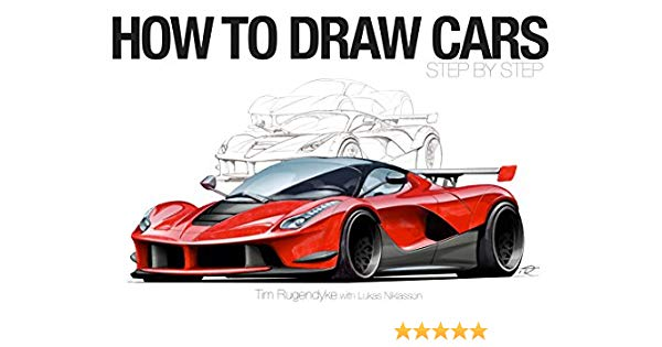 600x315 How To Draw Cars
