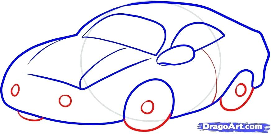 873x433 How To Draw Cars For Kids
