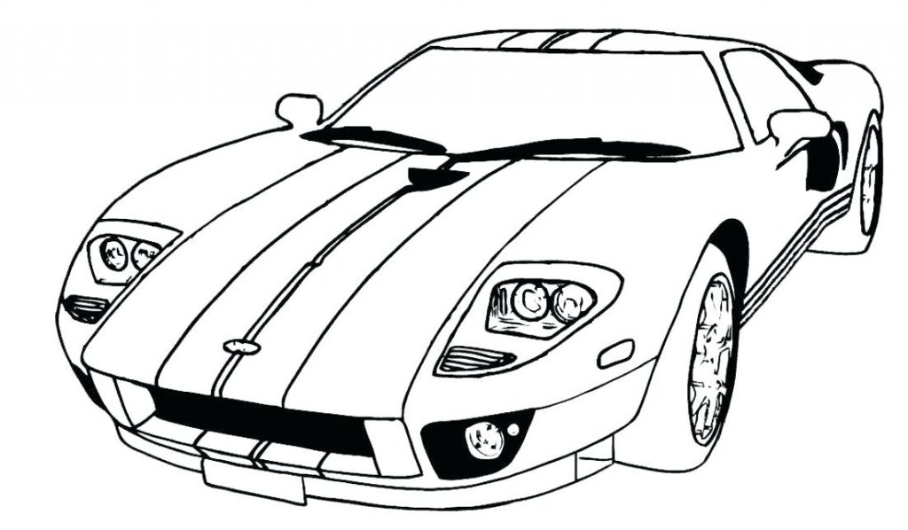 1024x598 Car Coloring Sheet