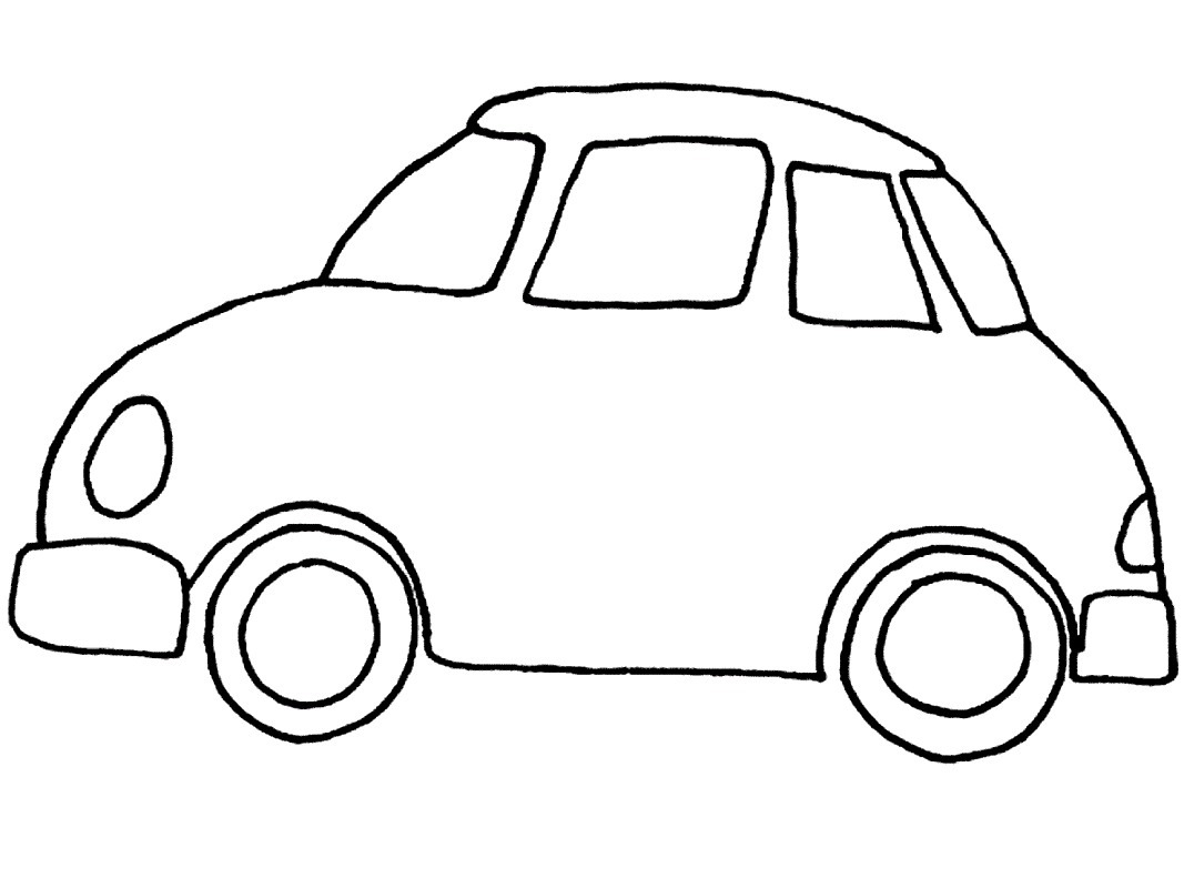 1067x800 New Images Of Car Colouring Template Download