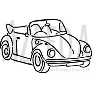 300x300 'vintage Car' Wall Stencil Template