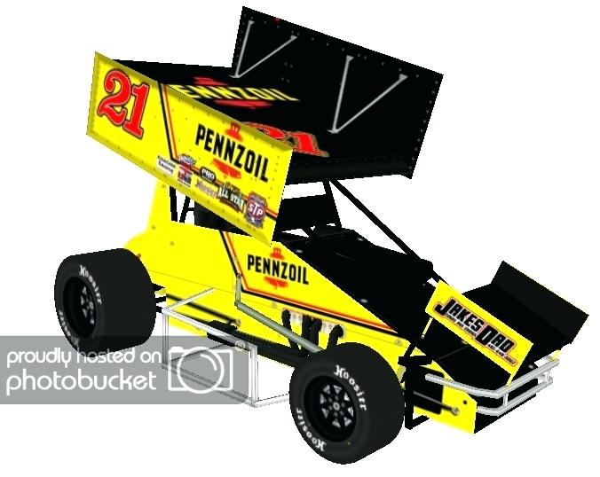 676x538 Sprint Car Racing Drawings Template Drawing