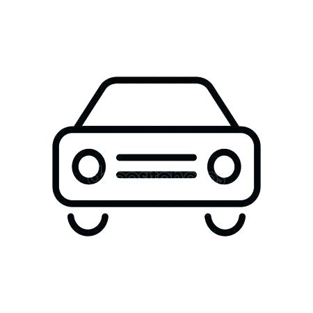 450x450 Car Drawing Template